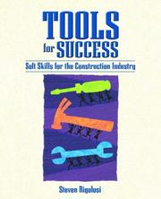 Cover of: Tools for Success | Steven A. Rigolosi, Michael L. Stilley