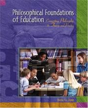 Cover of: Philosophical Foundations of Education | Sheila Dunn