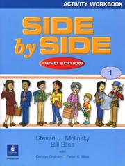 Cover of: Activity Workbook to accompany Side By Side, Book 1 | Steven J. Molinsky
