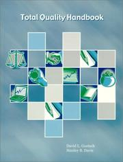 Cover of: Total Quality Handbook | David L. Goetsch