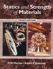 Statics and strength of materials open library cover of statics and strength of materials h w morrow fandeluxe Choice Image
