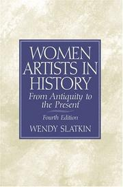 Cover of: Women artists in history | Wendy Slatkin