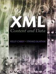 Cover of: XML | Kelly Carey