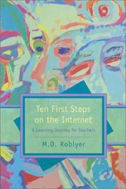 Cover of: Ten first steps on the Internet: a learning journey for teachers