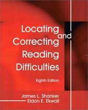 Cover of: Locating and correcting reading difficulties