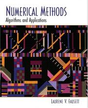 Cover of: Numerical Methods | Laurene V. Fausett