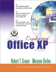 Cover of: Exploring Microsoft Office XP Professional, Vol. 2