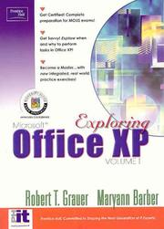 Cover of: Exploring Microsoft Office XP Professional, Vol. 1