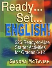Cover of: Ready...Set...English! | Sandra McTavish
