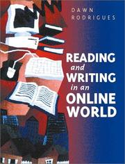 Cover of: Reading and writing in an online world | Dawn Rodrigues
