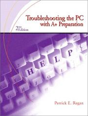 Cover of: Troubleshooting the PC | Patrick Regan
