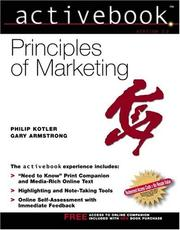 Cover of: Principles of Marketing, Activebook 2.0 | Philip Kotler