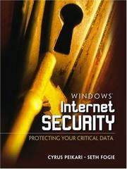 Cover of: Windows Internet Security | Seth Fogie