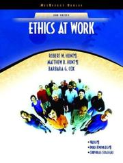 Cover of: Ethics at Work (NetEffect Series) (NetEffect Series) | Barbara G. Cox