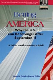 Cover of: Betting on America | James W. Cortada