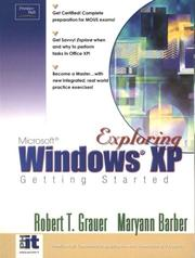 Cover of: Getting Started With Windows XP