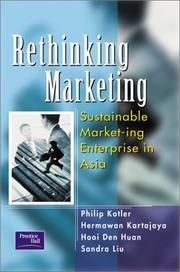 Cover of: Rethinking Marketing: Sustainable Market-ing Enterprise in Asia