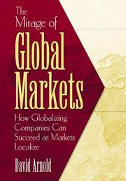 Cover of: The Mirage of Global Markets | David Arnold