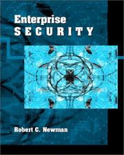 Cover of: Enterprise Security | Robert C. Newman