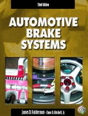 Automotive brake systems by James D. Halderman