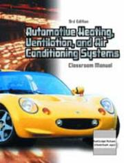 Cover of: Automotive Heating, Ventilation, and Air-Conditioning Systems (Chek-Chart Automotive)