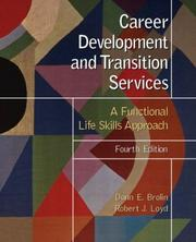 Cover of: Career development and transition services | Donn E. Brolin