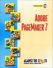 Cover of: Adobe PageMaker 7 |