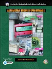Cover of: Automotive engine performance