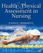 Cover of: Health and physical assessment in nursing | Donita D