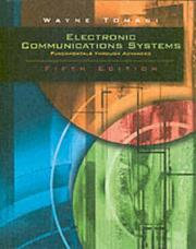 Cover of: Electronic Communications System