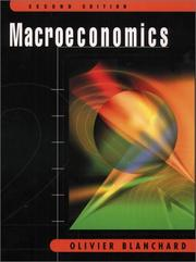 Cover of: Macroeconomics with Active Graphs CD (2nd Edition) | Olivier Blanchard