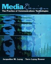 Cover of: Media Design | Jacqueline M. Layng