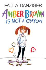 Cover of: Amber Brown Is Not a Crayon (Amber Brown)
