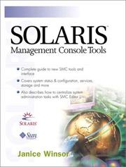 Cover of: Solaris management console tools