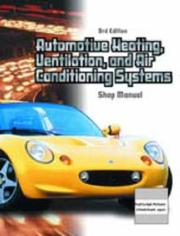 Cover of: Automotive Heating, Ventilation, and Air-Conditioning Systems (Chek-Chart Automotive) |