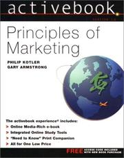 Cover of: Principles of Marketing ActiveBook | Philip Kotler