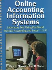Cover of: Online accounting information systems