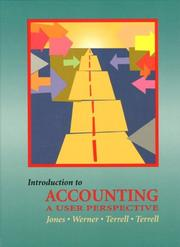 Cover of: Introduction to Accounting | Kumen H. Jones