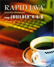 Cover of: Rapid Java Application Development Using JBuilder 4/5/6