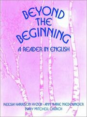 Cover of: Beyond the Beginning