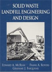 Cover of: Solid waste landfill engineering and design