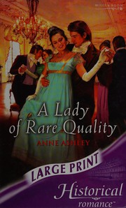 A Lady of Rare Quality