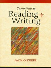 Cover of: Invitations to Reading and Writing