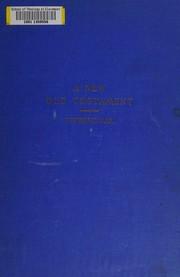 The interlinear literal translation of the Hebrew Old Testament