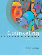 Cover of: Counseling | Samuel T. Gladding