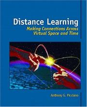 Cover of: Distance Learning | Anthony G. Picciano