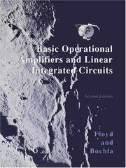 Cover of: Basic operational amplifiers and linear integrated circuits