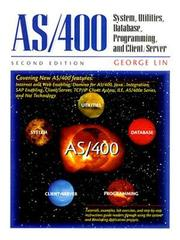 Cover of: AS/400 | George Lin