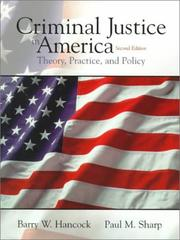 Cover of: Criminal Justice in America