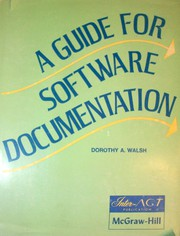 A guide for software documentation.